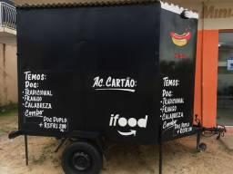 Food truck com reboque