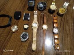 Kit relógios 12 peças