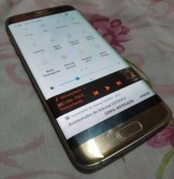 Vendo Samsung S7 Edge Tela Curvada Super Amoled 32Gb 4aRam Biometria Perfeito Valor 900