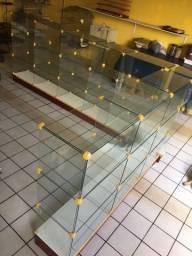 Título do anúncio: 2 balcões de vidro Temperado