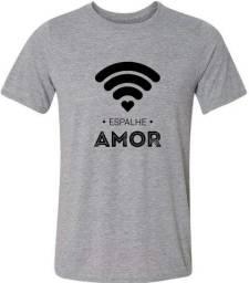 camisa espalhe amor regata fé camiseta espalhe amor