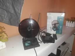 Conversor e antena junto acabei de comprar