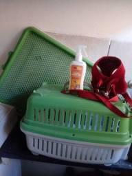 Kit para animais pequenos,sanitário,transporte, educador,mais peitoral para passeios