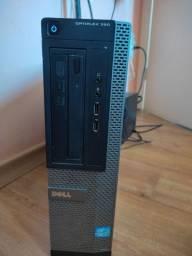 CPU Seminovo Dell Optiplex 390 i3 6GB