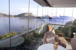 Título do anúncio: Apartamento com 4 quartos, 250m², melhor condomínio da cidade, vista mar, montado, lazer c
