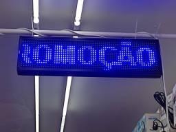 Título do anúncio: Painel Led Letreiro 70 X 20 Cor Azul Bivolt<br><br>