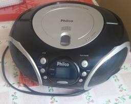 Vendo rádio portátil com CD Philco