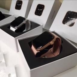 Kit Smart - Smartwatch IWO 26 + Pulseira Milanesa Extra + Película Protetora para Tela