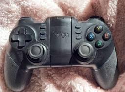 Controle gamer Bluetooth ípega