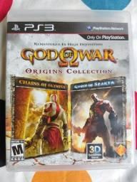 Jogo God Of War Origins Collection Ps3 Mídia Física Original