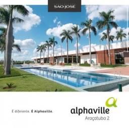 Terreno Condomínio em Loteamento Alphaville Araçatuba - Araçatuba