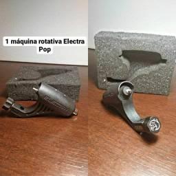 Título do anúncio: KIT TATUAGEM USADO MÁQUINA ELECTRA POP
