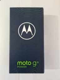 Moto g9 power novo lacrado com nota fiscal