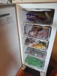 Título do anúncio: Geladeira e freezer