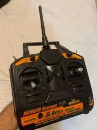 Rádio controle 6 canais - Aeromodelo