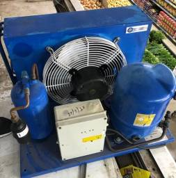 Unidade Condensadora Danfoss 2hp r22 BlueLine