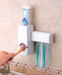 Dispenser para pasta de dente + porta escova dental novo lacrado