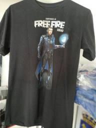 Título do anúncio: Camisa Free Fire CR7 Bourbon GaMes