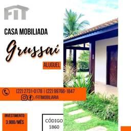 Título do anúncio: Fit - Casa - Grussai - locaçao anual ou temporada!!