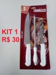 Kit churrasco - Pronta entrega