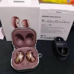 Título do anúncio: Fone de Ouvido Bluetooth com Microfone Samsung Buds Live