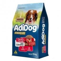 Promocao Ração Adidog 15Kg Premium Sem corante