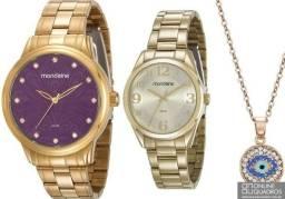 Título do anúncio: Relógio Mondaine Feminino, nota fiscal. 50 metros. Valor: 170,00 cada. 100% Originais.