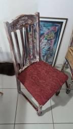 Cadeira restaurada!