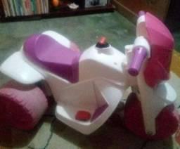 Vendo essa moto eletrica +bicicleta infantil