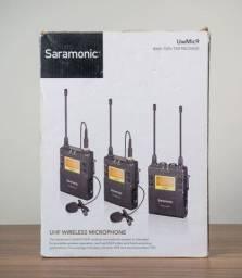 Microfone Lapela Saramonic UWMIC9