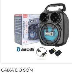 Caixinha amplificada bluetooth kimiso 65,00