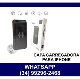 Capa Carregadora para Iphone * Consulte Modelos