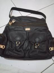 Bolsa  de couro legítimo santa Lolla