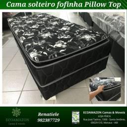 Título do anúncio: Cama Solteiro Ortobom ((PILLOW TOP))// LIQUIDAÇÃO