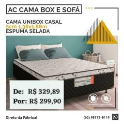 Título do anúncio: Cama Unibox casal 5cm
