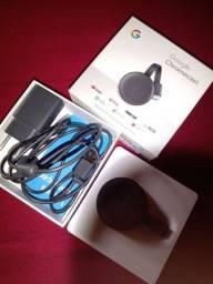Chromecast 3 semi novo ainda na garantia