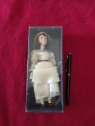 Título do anúncio: Linda boneca de porcelana Italiana