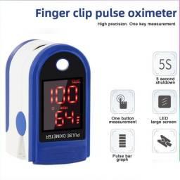 Oxímetro Saturação Com Monitoramento De Frequência Cardíaca / Detecção De Pulso /
