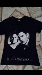 camiseta supernatural blusa feminina supernatural blusa feminina série
