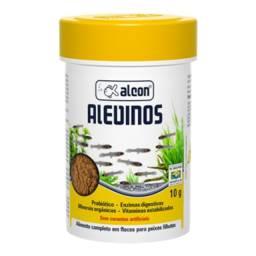 Ração Alcon Alevinos 10g - Microfloculado (pó) - Crescimento