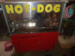 Carrinho Hot Dog com Chapa