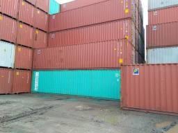 Container de 20' e 40' pés padrão