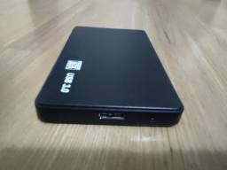 Hd externo USB 3.0 portátil 500GB seminovo