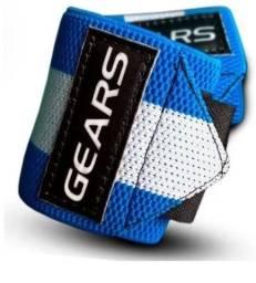 Munhequeira Crossfit Gears Azul