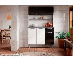 Kit Cozinha Aço 6 portas 1 gaveta Dona Maria RRR4