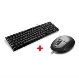 Mouse e teclado Multilaser