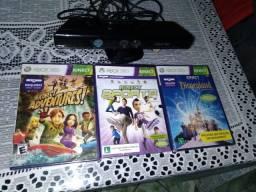 Kinect +3 jogos originais novos lacrados