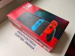 Nintendo Switch V2 - Novo - Nota Fiscal - Troco