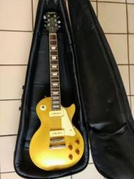 Título do anúncio: Guitarra Epiphone Les Paul Gold Top 1956 P-90's