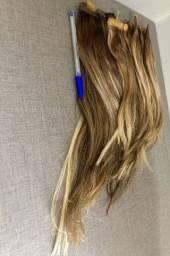 Título do anúncio: Aplique de cabelo verdadeiro